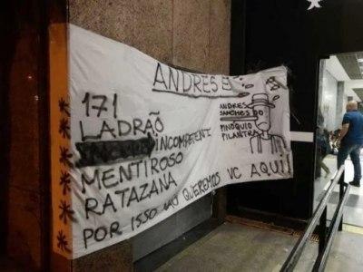 Torcidas organizadas que deram poder a Andrés, o queriam fora do Corinthians
