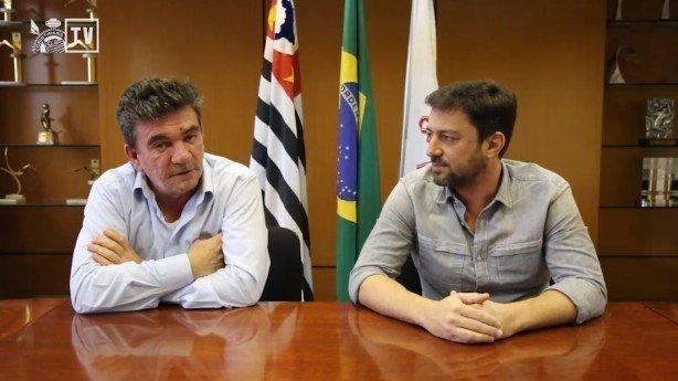 Andrés se empenhou. Acordo com a Caixa pelo estádio foi fundamental para Duílio
