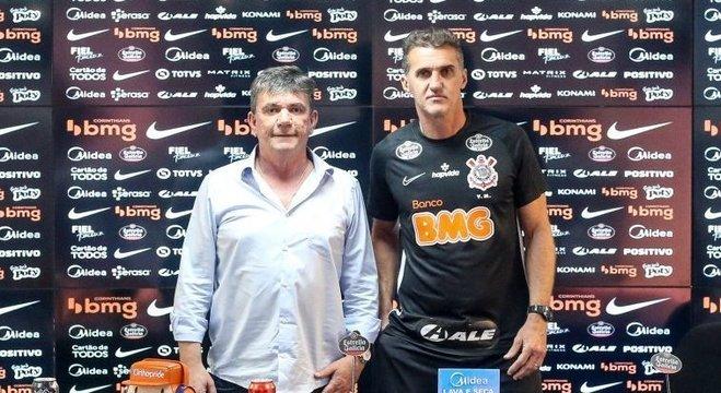 Andrés e Mancini. Ligados umbilicalmente para tentar evitar rebaixamento
