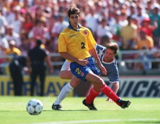 Andrés Escobar: o zagueiro colombiano fez parte da boa safra da seleção