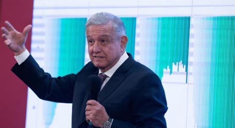 """""""Amanhã vacinaremos"""", afirmou o presidente Andrés Manuel López Obrador"""