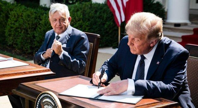 A renegociação do acordo de livre comércio com o México e o Canadá é considerada uma das realizações de Trump