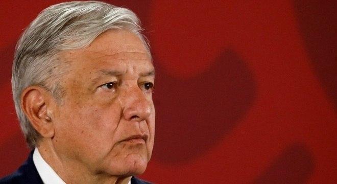 """""""Já fiz o teste, carrego meu certificado"""", disse o presidente Manuel Lopez Obrador"""