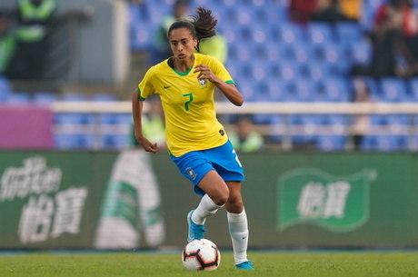 Andressa Alves é meia-atacante da Roma e da seleção brasileira