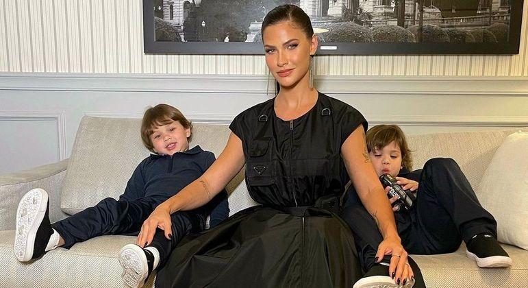 Andressa Suita tem dois filhos com Gusttavo Lima, Gabriel e Samuel