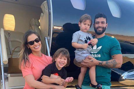 Casal estava junto desde 2015 e tem dois filhos