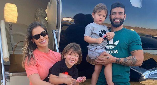 Casal tem dois filhos, Gabriel, de 3 anos, e Samuel, de 2