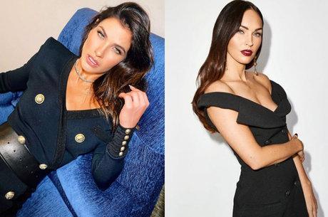 Andressa Suita brinca: 'Megan Fox de Goiânia'