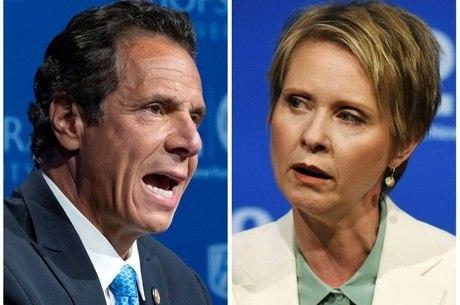 Andrew Cuomo e Cynthia Nixon disputam primária