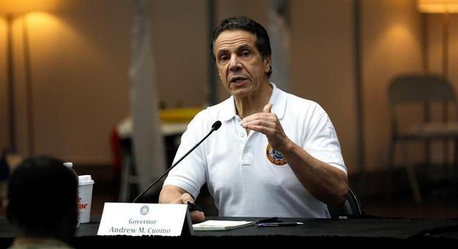 Governador Andrew Cuomo afirmou que foram registradas 161 mortes nas últimas 24h