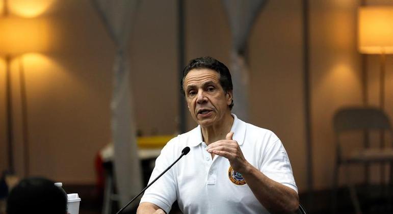 Andrew Cuomo, governador de NY, anuncia variante brasileira do coronavírus no estado