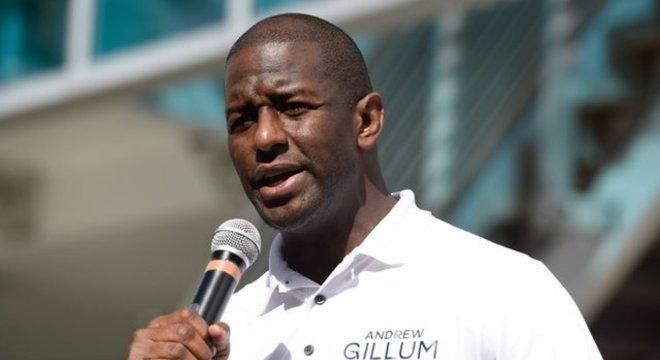 Gillum pode se tornar o primeiro governador negro da história da Flórida