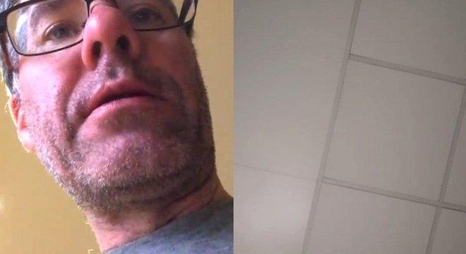 Andrew Webb / Skype Registro da minha última chamada com ela, que falou comigo até adormecer