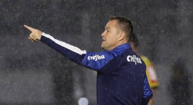 Andrey tem bom retrospecto no comando do Palmeiras