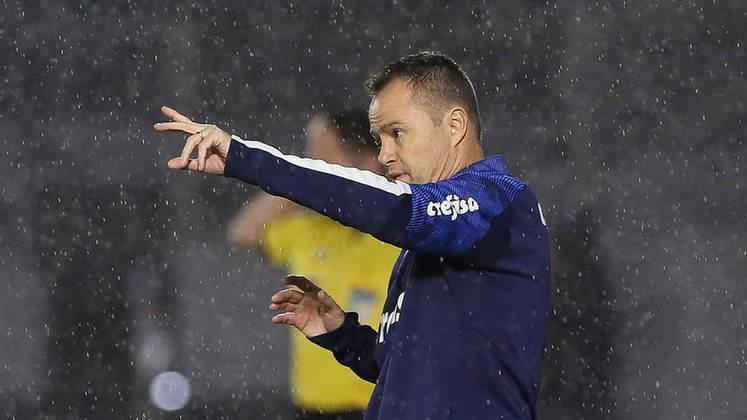 Andrey Lopes: técnico interino antes da chegada de Abel Ferreira