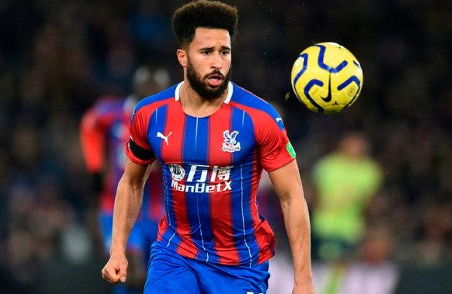 Andros Townsend: atacante - 29 anos - inglês - Fim de contrato com o Crystal Palace - Valor de mercado: 7 milhões de euros