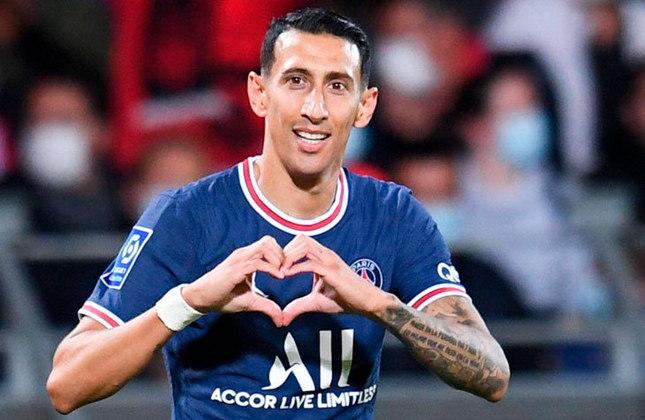 Ángel Di María (33 anos) - Meia-atacante do PSG - Valor de mercado: 20 milhões de euros - Nome importante para o time do PSG e com renovação incerta.