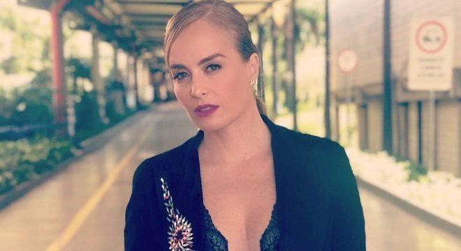 Angélica já apresentou um quadro no falecido Vídeo show