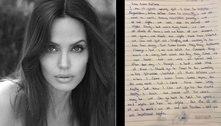 Angelina Jolie cria perfil no Instagram e posta carta de afegã