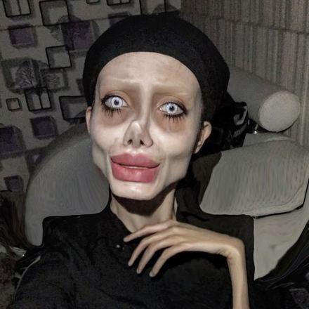 Isso não seria novidade, uma vez que ela especialista em maquiagem e intervenções digitais em suas fotosNão perca:Parecem alienígenas! Esses são os cogumelos mais bizarros do mundo