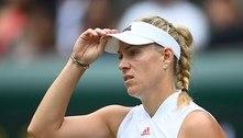 Alemã Kerber desiste do torneio olímpico de tênis em Tóquio