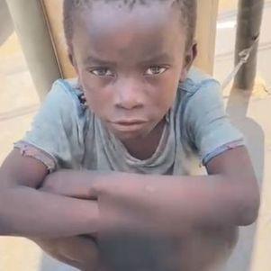 Criança vive situação de extrema pobreza