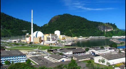Usina nuclear Angra 1, no Rio de Janeiro