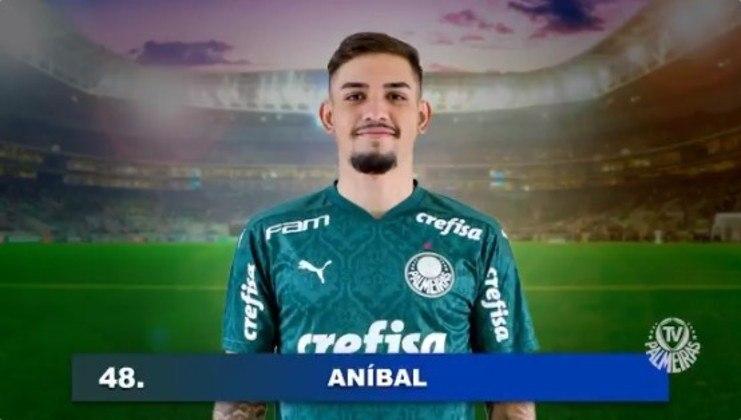 Aníbal (20 anos - atacante): Tem um jogo pelo Palmeiras, com Abel Ferreira.