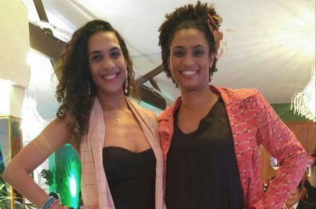 Anielle Silva com irmã, a vereadora Marielle Franco