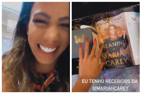 Anitta mostrou presente que ganhou de Mariah