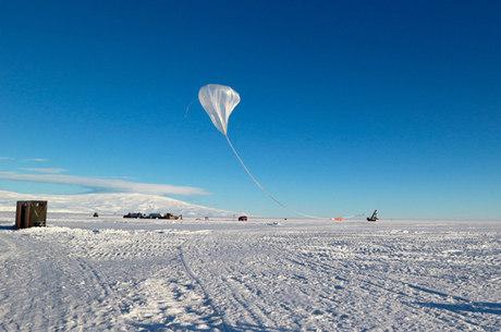 Experiências têm sido realizadas na Antártida
