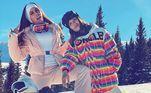 A estilista e editora fashionJanelle Renèe se juntou a Anitta e Daniella. O frio era tanto que a cantora disse no Instagram que não estava mais sentido as próprias pernas
