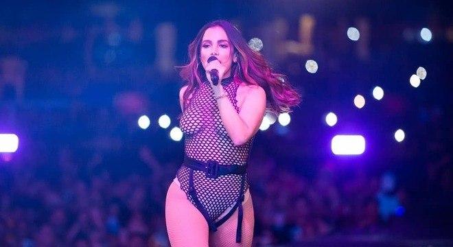 A cantora pop explicou a escolha do figurino ousado