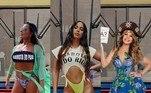 Anitta apresenta nesta quinta-feira (29) a música Girl From Rio. O hit, que também vai ganhar um videoclipe, na sexta-feira (30), nem estreou nas plataformas digitais e já vem dando o que falar nas redes sociais. Nos últimos dias, após divulgação de fotos do novo trabalho da cantora pop, famosos entraram na brincadeira de reproduzir as capas do single. Nomes como Elba Ramalho, Gretchen e Juliana Paes compartilharam imagens na internet
