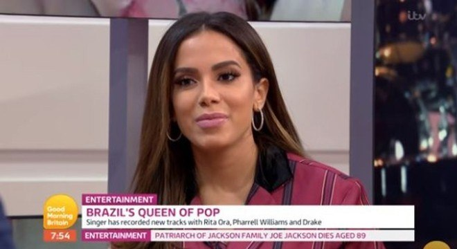"""Anitta foi a convidada do """"Good Morning Britain"""""""