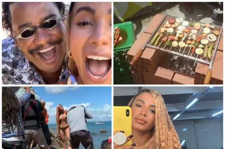 Anitta exibiu bastidores de novo clipe nas redes sociais