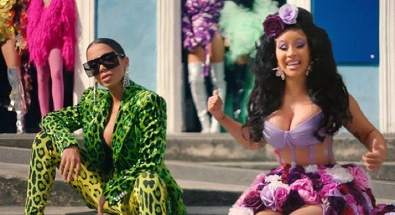No ano passado, rapper americana foi convidada por Anitta para participar da canção 'Me Gusta'