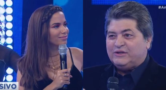 Anitta no programa de Datena na Band