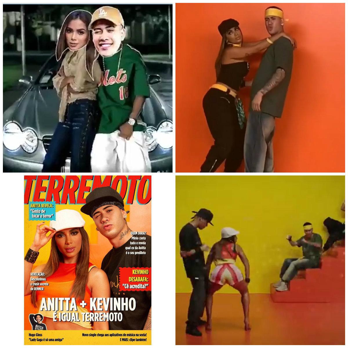 Anitta e Kevinho lançam hit  veja o que esperar da parceria inédita - Fotos  - R7 Música 16b0394bd6