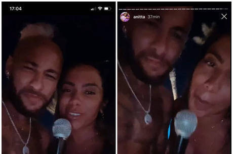 Anitta e Neymar aparecem juntos em vídeo