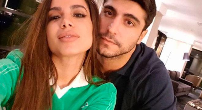 Anitta e Thiago ficaram casados por um ano
