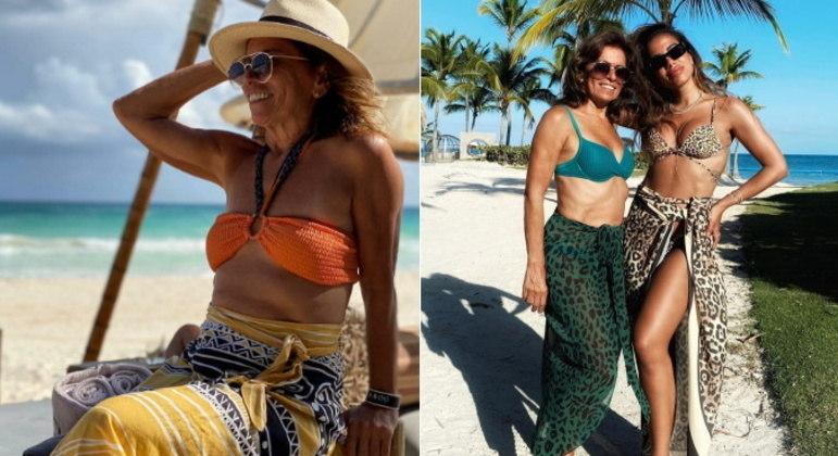 Miriam Macedo, a MamitchaA mãe de Anitta também conquistou os fãs da cantora. Miriam tem quase 200 mil seguidores no Instagram, onde costuma publicar fotos da família e em viagens com a filha. A boa forma da Mamitcha também sempre rende elogios