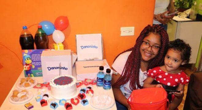 Projeto possibilitou que crianças pudessem comemorar aniversário