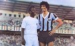 O Grêmio escreveu em suas redes sociais: 'Hoje, Edson Arantes do Nascimento comemora 80 anos de uma vida dedicada ao futebol! É inegável a sua importância para o esporte no Brasil e no Mundo: Tricampeão mundial, maior artilheiro da história e considerado o maior jogador de todos os tempos. Feliz aniversário, Pelé!'