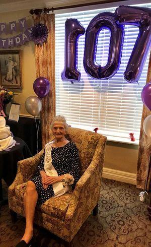 Anna comemorou seus 107 anos livre da covid-19