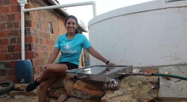 Anna Luísa criou filtro para fornecer água potável na região Nordeste