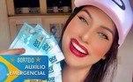 Com 165 mil seguidores, Anna Paula Rabello indignou até o youtuber Felipe Netto ao publicar um sorteio batizado