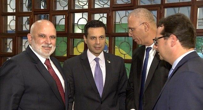 Bispo Renato Cardoso esteve na comemoração do Ano Novo Judaico em Brasília