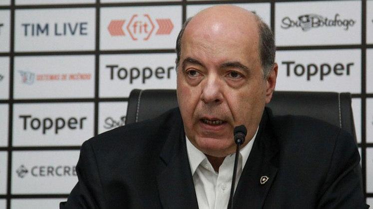 Ano novo, presidente novo: em 2018, Nelson Mufarrej assumiu a cadeira mais alta do Botafogo. Também do grupo