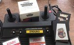 Mas a diversão estava garantida com o vídeo game Atari